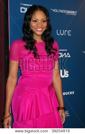 LOS ANGELES - NOV 18:  Erica Hubbard arrives for the US Weekly AMA After Party at Lure on November 18, 2012 in Los Angeles, CA