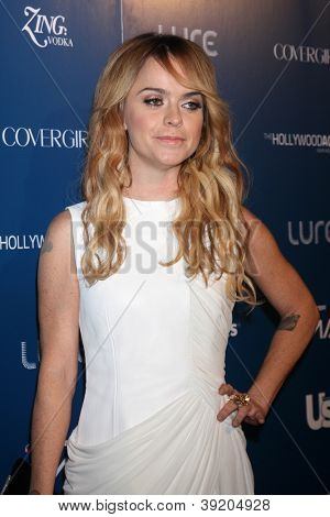 LOS ANGELES - NOV 18:  Taryn Manning arrives for the US Weekly AMA After Party at Lure on November 18, 2012 in Los Angeles, CA
