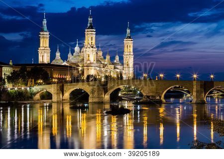 Our Lady Of The Pillar, Zaragoza, Aragon