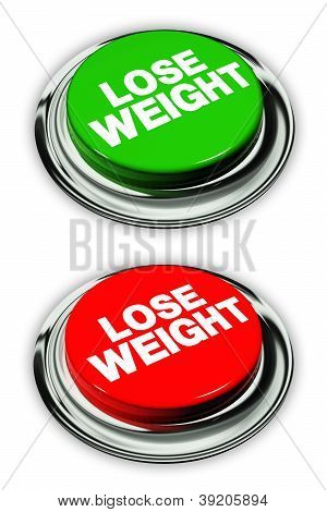 Lose Weight Button