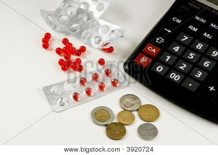 Calculator Key Money Finances