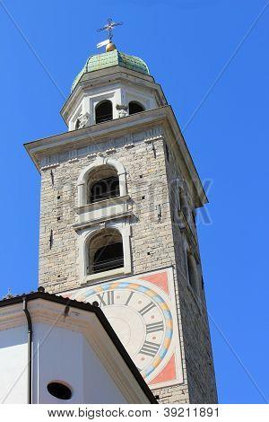 San Lorenzo Cathedral At Lugano, Ticino, Switzerland