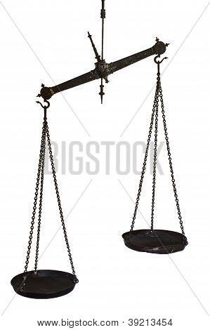 Set Of Hanging Balance Scales
