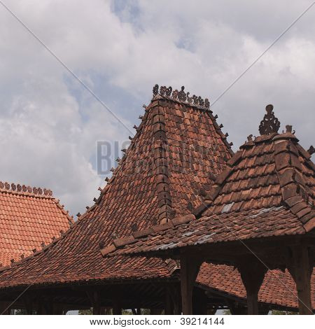 Rows of Roof Tiles