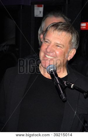 LOS ANGELES - NOV 20:  Alex Lifeson of RUSH at the ceremony where RUSH is Inducted Into Guitar Center's RockWalk at Guitar Center on November 20, 2012 in Los Angeles, CA