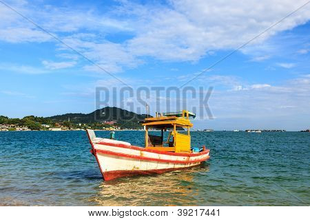 Boat Parking In The Sea