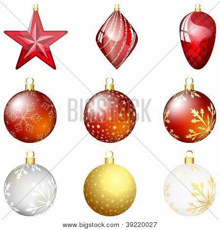 Bola de Navidad Set