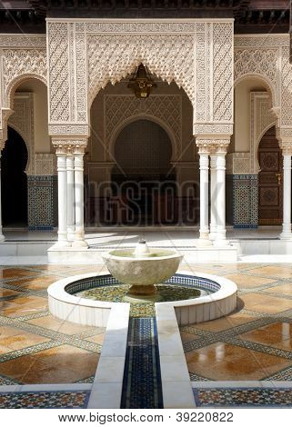 Interior of Moroccan Paviilion, Malaysia