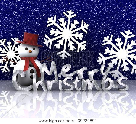 Christmas illustration - 3D