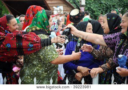 Traditional rural wedding
