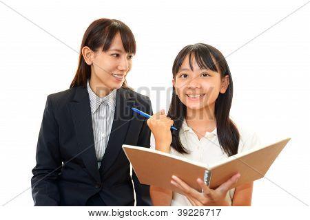 Kind studiert