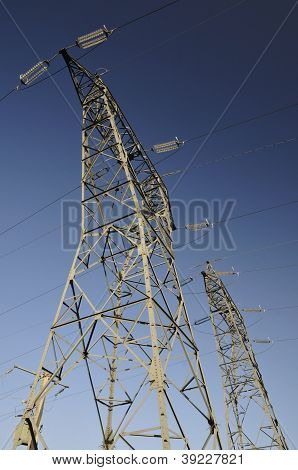 Two Big Electricity Pylons