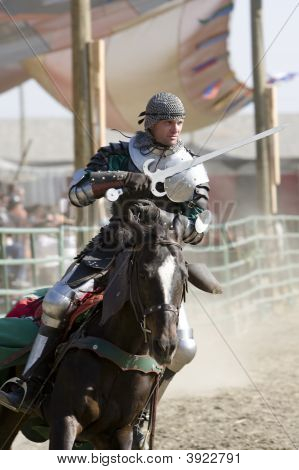 Renaissance Pleasure Faire - Knights On Horseback
