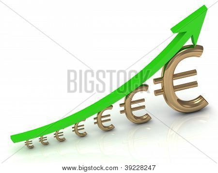 Illustration Of The Euro To Increase Profits