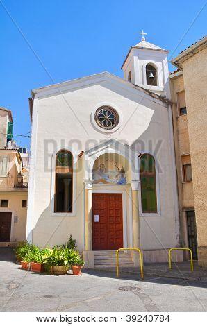 Church of St. Biagio. Diamante. Calabria. Italy.
