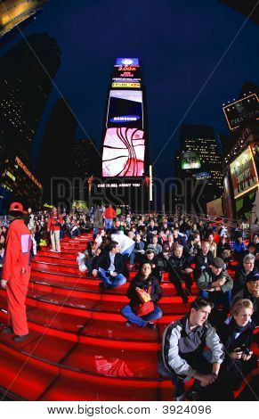 4. November 2008 die Times square in New York