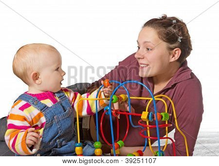 Baby With Motor Activity Development Delay
