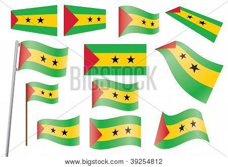 Flag Of Sao Tome And Principe