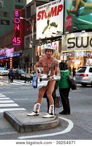 Vaquero desnudo