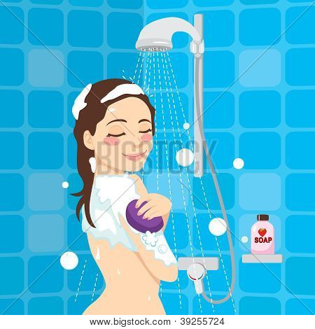 Soothing Shower Relaxation