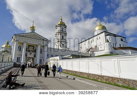 Entrance In The Holy Dormition Pochaev Lavra