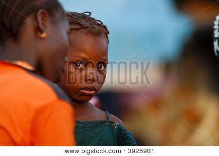 Curious African Girl