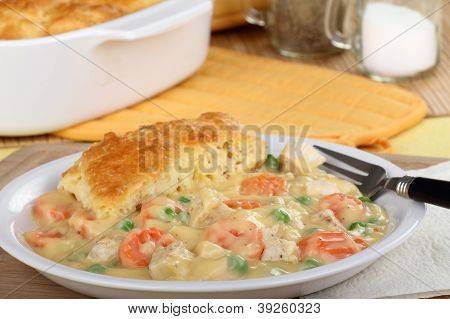Chicken Pot Pie Meal