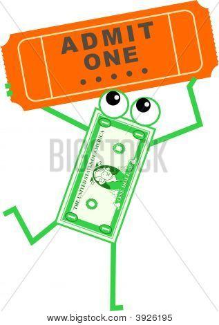 Ticket Dollar