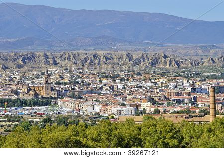 View of Guadix