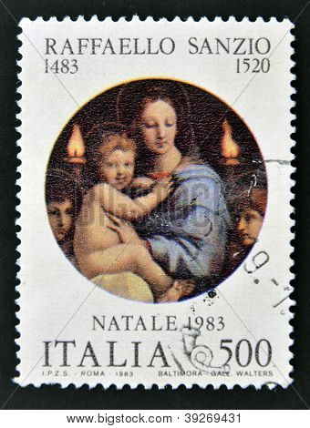 ITALY - CIRCA 1983: A stamp printed in Italy shows