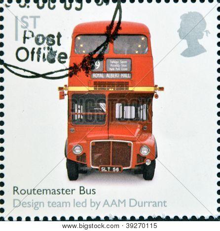 UNITED KINGDOM - CIRCA 2009: A stamp printed in Great Britain dedicates to Design Classics shows Rou