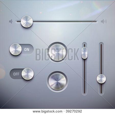 Elementos de la interfaz de usuario