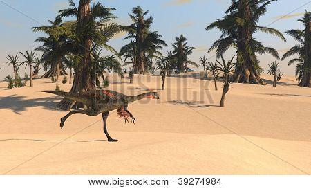 running gignatroraptor