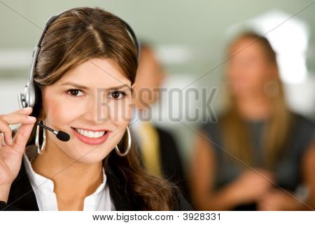 Business Support Woman