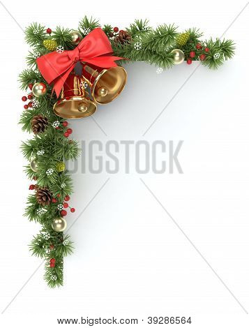 Canto de árvore de Natal.