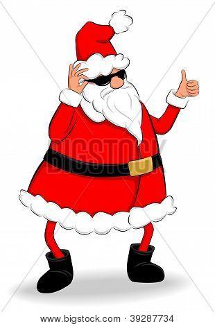Thumb Up Santa