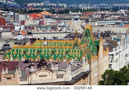 Roofs Of Budapest