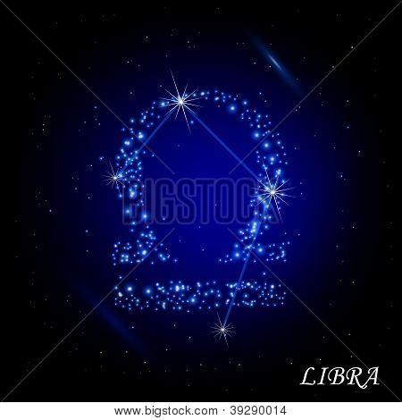 Sign of the zodiac - Libra.
