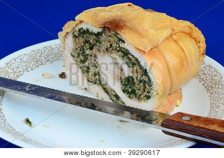 Sliced Turkey Roll