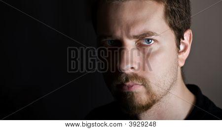 Serious Looking Man