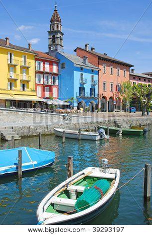 Ascona,Lake Maggiore,Ticino,Switzerland