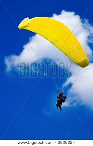Flying With The Paraglide