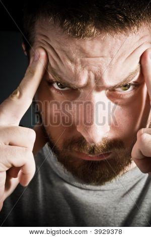 Dor de cabeça chata