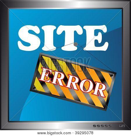 Site Error Icon
