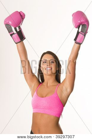 Boxer In Pink