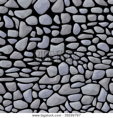 Dark seamless stone pattern