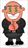pic of greedy  - Businessman - JPG