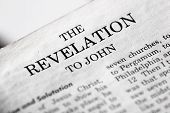 stock photo of revelation  - The last book of the Bible  - JPG