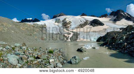 Glacier And River