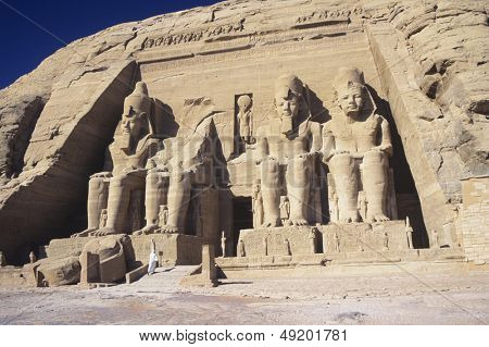 Temple of Ramesses II at Abu Simbel
